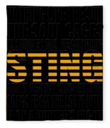 Sting Fleece Blanket