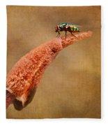 Stinkhorn Mushroom - Fly Fleece Blanket