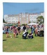 St.leonards Festival England Fleece Blanket