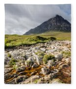 Stob Dearg Mountain Fleece Blanket