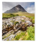 Stob Dearg Peak Fleece Blanket