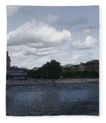 Stockholm Graphic Fleece Blanket