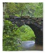 Stone Arch Bridge, China Fleece Blanket