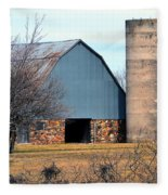 Stone Barn Fleece Blanket