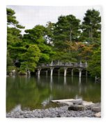 Stone Bridge Fleece Blanket