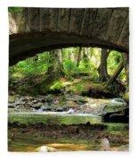 Stone Bridge II Fleece Blanket