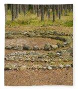 Stone Circle Fleece Blanket