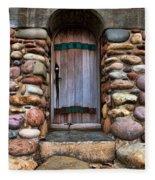 Stone Door Fleece Blanket