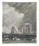 Stone Henge Fleece Blanket