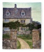 Stone House Fleece Blanket