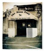 Stone Pony Fleece Blanket