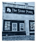 Stone Pony Cool Side View Fleece Blanket