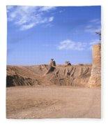 Stone Quarry Fleece Blanket