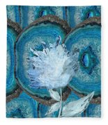 Stone Rose Fleece Blanket