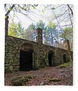 Stone Ruins Fleece Blanket