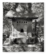 Stone Shrine Fleece Blanket