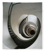Stone Staircase Fleece Blanket