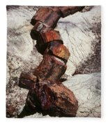 Stone Trees - 337 Fleece Blanket