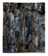 Stone Wall Fleece Blanket
