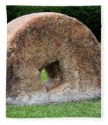 Stone Wheel Fleece Blanket