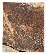 Stone Written Fleece Blanket