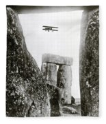 Stonehenge 1914 Fleece Blanket