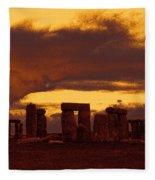 Stonehenge 6 Fleece Blanket