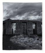 Stonehenge Of America Fleece Blanket