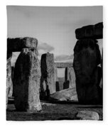 Stonehenge Fleece Blanket