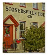 Stonersville Hotel Fleece Blanket