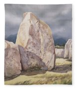 Stones Of Castlerigg Fleece Blanket