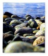 Stones To Admire Fleece Blanket