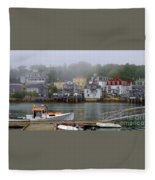 Stonington Harbor 2 Fleece Blanket