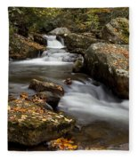 Stony Creek Falls Fleece Blanket