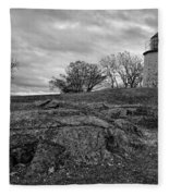 Stony Point Lighthouse Fleece Blanket