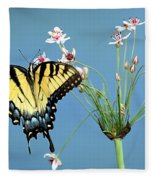Stop And Smell The Flowers Fleece Blanket