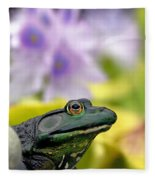 Stop And Smell The Hyacinths Fleece Blanket