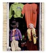 Store Dolls Fleece Blanket