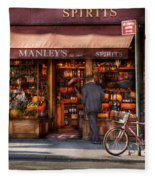 Store - Wine - Ny - Chelsea - Wines And Spirits Est 1934  Fleece Blanket