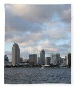 Storm Approaching San Diego  Fleece Blanket