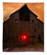 Storm Barn Fleece Blanket