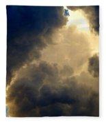 Storm Clouds 6 Fleece Blanket
