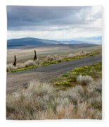 Storm Clouds Gathering Over Washington Hills Fleece Blanket