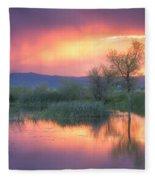Storm Color Fleece Blanket