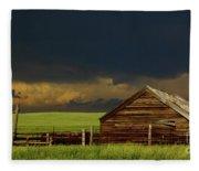 Storm Crossing Prairie 2 Fleece Blanket