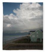 Storm On The Horizon Fleece Blanket