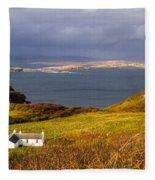 Storm Over Skye Fleece Blanket