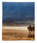 Storm Riders Fleece Blanket