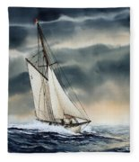 Storm Sailing Fleece Blanket