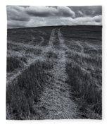 Storm Tracks Fleece Blanket